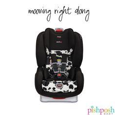 Britax Marathon Clicktight Convertible Car Seat Child Safety 2018 Cowmooflage