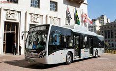Prefeitura de São Paulo apresenta primeiro ônibus elétrico fabricado no Brasil