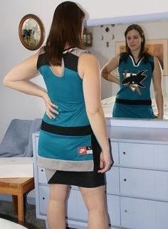 San Jose Sharks dress!!! <3