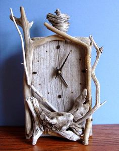 NW Wholesaler - Bundle of Driftwood for Reptile Decor, Aquariums, Terrariums, Fairy Garden and Arts & Crafts (Bundle of - Driftwood 4 Us Buy Driftwood, Driftwood Furniture, Driftwood Projects, Driftwood Ideas, Furniture Projects, Furniture Plans, Diy Furniture, Reptile Decor, Clock Display
