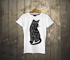 Women and cats T-shirt