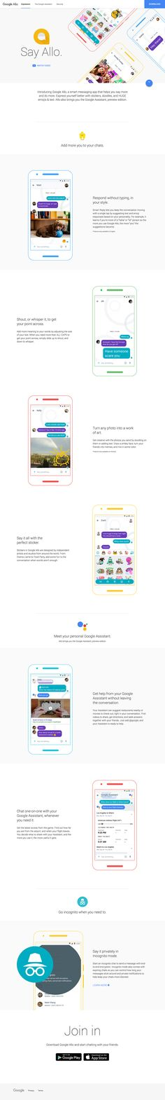 Google Allo - A smart messaging app