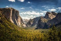 https://flic.kr/p/CHi95E | Yosemite National Park, Half Dome from Tunnel View | George Tupak Yosemite National Park, Half Dome from Tunnel View #GeorgeTupak