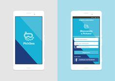 "Consulta mi proyecto @Behance: ""Prototipo app/Picksea"" https://www.behance.net/gallery/33998734/Prototipo-appPicksea"