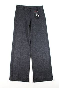 Patrizia Pepe Womens Dress Pants Size 28 US  42 EU Regular Grey Virgin Wool *** More info could be found at the image url.