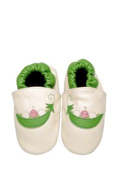 Bibi & Mimi Sweet Pea Leather Shoes for Baby