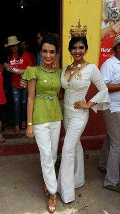 Dos reinas! Nataly y Estefany! #festivaldelamejorana #culturaparatodos