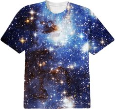 Blue Galaxy T-Shirt - Available Here: http://www.printallover.me/collections/sondersky/products/galaxy-blue
