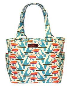 Bungalow360 Vegan Cotton Canvas Pocket Bag Toucan    Want to know more 6b877114ebad