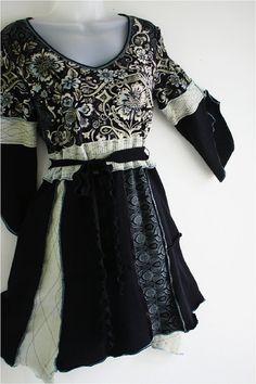 Womens Upcycled Boho Dress or Top by MargoSueStudio