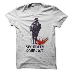 Army T-Shirts, Hoodies. CHECK PRICE ==► https://www.sunfrog.com/Funny/Paintball-Security-Conflict.html?id=41382
