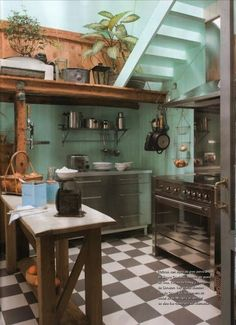 Farmhouse Kitchen Ideas | The very vibrant colors. Description from pinterest.com. I searched for this on bing.com/images