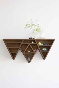 Bryn Mountain Display Shelf - Urban Outfitters  I could use this for my rock collection!