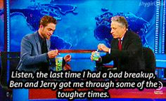 Robert Pattinson on The Daily Show