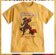 Pirates of the Caribbean T-Shirts Set Sail on Disney Parks Online Store from July 7-13, 2014