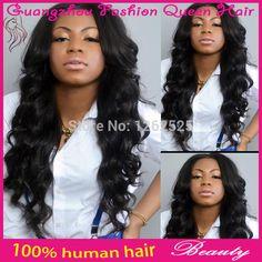 High density body wavy u part wig virgin hair natural black brazilian u part wigs 100% 5a unprocessed human hair u part wigs