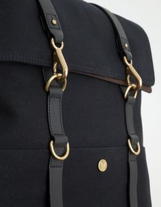 The Mismo Backpack in Black