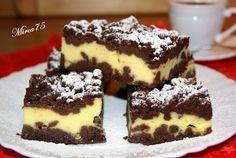 Strouhaná buchta II recept - TopRecepty.cz Healthy Recepies, Healthy Dessert Recipes, Cake Recipes, Healthy Foods, Sweet Cakes, Sweet And Salty, Nutella, Tiramisu, Food And Drink