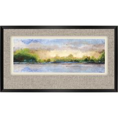 Magic Vista Framed Painting Print