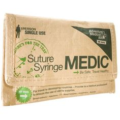 Suture Syringe Medic - Travel - Medical Kits - Adventure® Medical Kits - First Aid Kits and Survival Gear