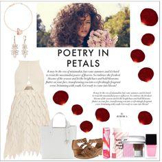 Designer Clothes, Shoes & Bags for Women Laqa & Co, Giambattista Valli, Furla, Anne Klein, Christian Dior, Polyvore Fashion, Earth, Flower, Design