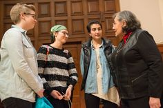 """Diane Nash told the students, """"People often talk about change but don't get around to doing anything. Even though we had not met you yet, we did what we did for you. We loved you.""""   2016"""