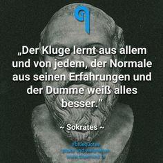 50 great sayings - pure inspiration - 50 tolle Sprüche – Inspiration pur – bluemind.tv The clever learns from everything and from everyone, the normal from his experiences and the stupid knows everything better. Motivational Quotes, Funny Quotes, Life Quotes, Inspirational Quotes, Health Quotes, True Words, Great Quotes, Decir No, Quotations