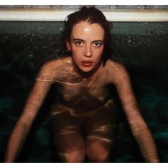 Inspiration: Nan Goldin, Amanda At The Sauna, Berlin, 1993.  https://www.instagram.com/p/BDQ3niMJ-xH/?taken-by=damirdomaofficial