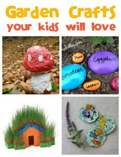 Pinterest Garden Crafts | Find tons of fun garden crafts for the kids at ... | Crafts