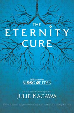 "Allison Sekemoto's dystopian saga continues in ""The Eternity Cure"", the second installment of Julie Kagawa's Blood of Eden series."