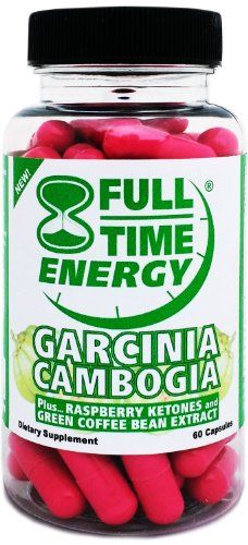 Full-Time Energy Pure Garcinia Cambogia plus Raspberry Ketones and Green Coffee Bean Extract Complete Complex - Lose Weight and Burn Fat With This Extreme Weight Loss Diet Pills Formula - The Best Natural Fat Burners and Weight Loss Supplements That Works Fast for Both Women and Men Full-Time,http://www.amazon.com/dp/B00ENKVX86/ref=cm_sw_r_pi_dp_IeKEtb10709W0D5G
