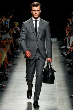 Bottega Veneta | Spring 2014 Menswear Collection | Style.com -- it seems that the dr's bag is in style for men