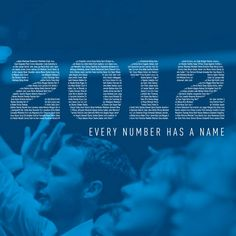 Gateway Church 2012 Annual Report - Every Number Has A Name
