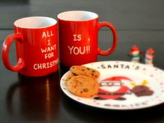 Great gift for a military spouse who is home this holiday season. : ) From Remya Hariharan's pins --- All I Want For Christmas Is You Coffee Mugs  by DreamAndCraft