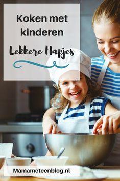 ik vind ook leuk  met kinderen koken. Healthy Family Meals, Kids Meals, Family Recipes, Little Chef, Baking With Kids, Indian Dishes, School Lunch, High Tea, Cooking Tips