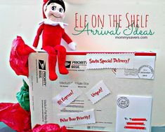 Elf on the Shelf Ideas for Arrival - When does your elf return?