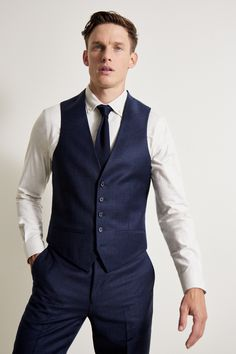 Checked Suit, Checked Trousers, Blue Trousers, Three Piece Suit, 3 Piece Suits, Mens Fashion Suits, Mens Suits, Men's Fashion, Blue Check Suit