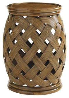 Bali Hai Hibiscus Round Accent Table by Tommy Bahama Home