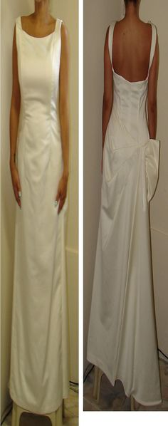 Vintage Nahdree by Victor Costa Bridal Gown style 253102