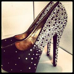Instagram photo #style #cool #princess #heels #crystal