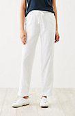 plus size easy double-cloth ankle pants | J.Jill