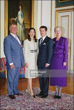 Prince Henrik Mary Elizabeth Donaldson Crown Prince Frederik And... Fotografía de noticias | Getty Images