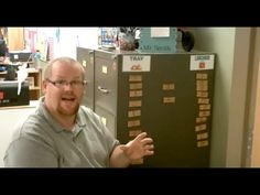 Teacher Tipster (Lunch Sticks) - YouTube--even shows who's absent without asking.