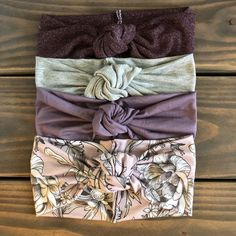 3 different styles fabrics so you can get a feel for what you like these handmade headbands are made from fabrics with good stretch knotted headband no sew – Artofit Baby Bows, Baby Headbands, Handmade Headbands, Baby Girl Fashion, Kids Fashion, God Made Girls, Getting Ready For Baby, Cute Baby Clothes, Cool Baby Stuff