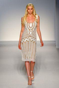 Alberta Ferretti Spring 2012 Roaring '20s Dress