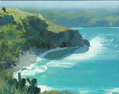 Robert Lemler - honolau bay, maui- Oil - Painting entry - May 2009 | BoldBrush Painting Competition