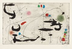 Joan Miró, Mark on the Wall II (1967) on ArtStack #joan-miro #art