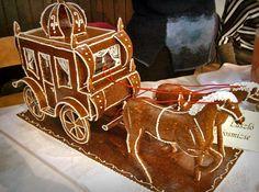 Lajosmizse / Egyedi grillázstorta / Rimóczi-Art Red Christmas, Christmas Wedding, Cute Cookies, Paper Shopping Bag, Gingerbread, Food And Drink, Cukor, Desserts, France