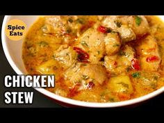 Kaldereta sa Gata with Peanut butter is a beef stewed in coconut milk, tomato sa… Easy Chicken Stew, Stew Chicken Recipe, Yummy Chicken Recipes, Chicken Curry, Recipe Stew, Slow Cooker Recipes, Cooking Recipes, Healthy Recipes, Comfort Food