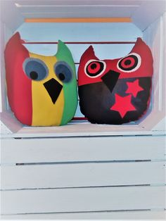 Owl Pillows Regge Rock